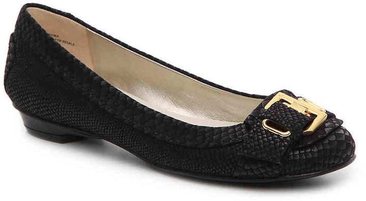 Anne KleinWomen's Moriah Ballet Flat -Black
