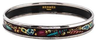 Hermes Enamel Narrow Bangle