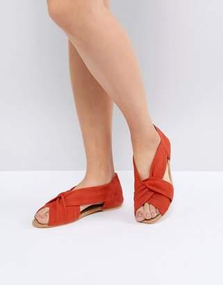 Asos Design DESIGN Janel Suede Summer Shoes