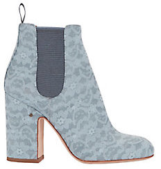 Laurence Dacade Mila Lace Booties $720 thestylecure.com