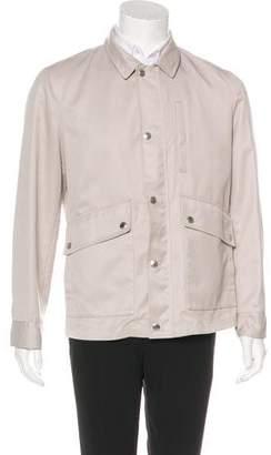 Brunello Cucinelli Woven Utility Jacket