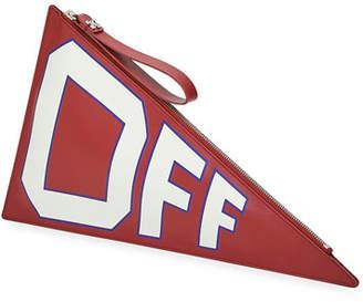 Off-White Mattone Flag Clutch Bag