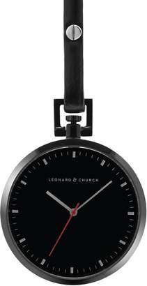 Church's LEONARD AND Leonard & Prospect Leather Strap Pocket Watch, 48mm