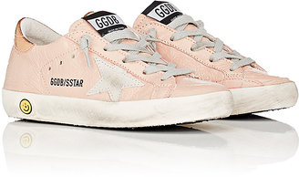 Golden Goose Superstar Patent Leather Sneakers $265 thestylecure.com