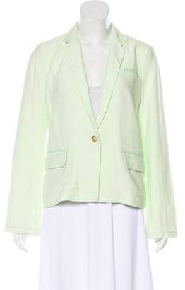 Elizabeth and James Notch-Lapel Lightweight Blazer