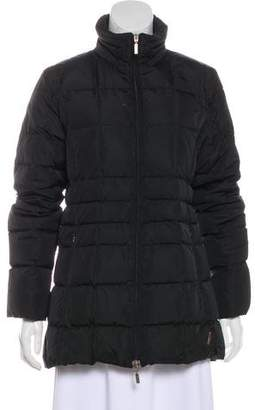 Moncler Quilted Zip-Up Jacket