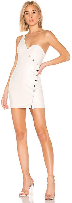 Jackie Button Front Mini Dress