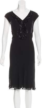 Collette Dinnigan Silk Embellished Dress w/ Tags