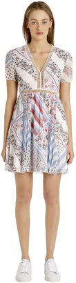 Printed Silk Chiffon Dress Gigi Hadid $275 thestylecure.com