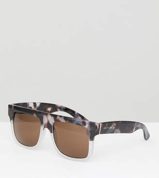 South Beach Flat Brow Sunglasses