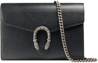 Gucci Dionysus Leather Wallet on a Chain