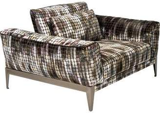 Roche Bobois Patterned Player Armchair