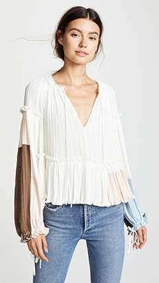3.1 Phillip Lim Gathered Pleat Top