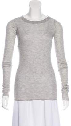 Enza Costa Cashmere Scoop Neck Sweater