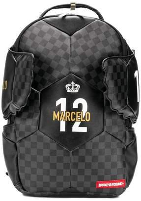c4e5b8a7b0ab at Farfetch · Sprayground Marcelo soccer king backpack