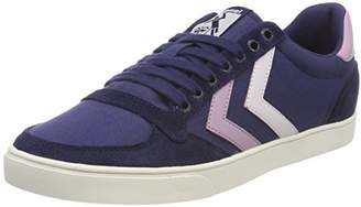 Hummel Women's Slimmer Stadil Duo Canvas Low Trainers