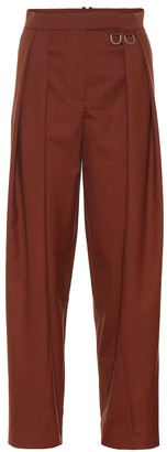 REJINA PYO Riley high-rise straight wool pants