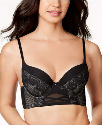 INC International Concepts I.n.c. Lace Corset Longline Bra, Created for Macy's