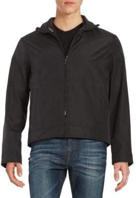 Michael Kors Convertible Zip-Front Jacket