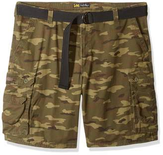 Lee Men's Tall Big & Tall Dungarees New Belted Wyoming Cargo Short