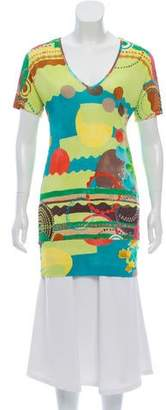 Missoni Abstract Print Tunic