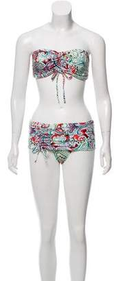Etro Paisley Printed Two-Piece Swimsuit w/ Tags
