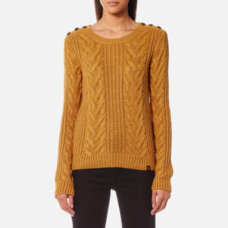 Superdry Women's Janna Cable Jumper
