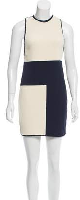 Calvin Klein Collection Knit Colorblock Dress w/ Tags