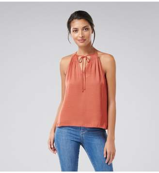 Ever New Aria Petite Smocked Halter Neck Top