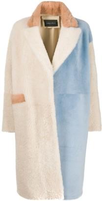 Cara Mila Khala shearling coat