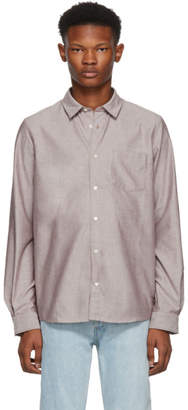 A.P.C. Burgundy 92 Shirt