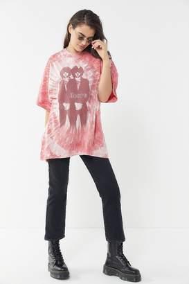 Urban Outfitters The Doors Tie-Dye T-Shirt Dress
