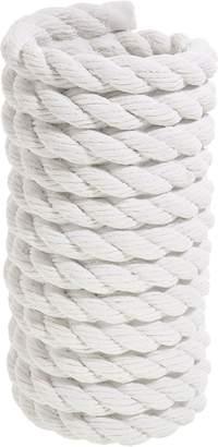 Areaware Coil Rope Vase, Bowl White