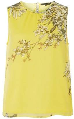 Dorothy Perkins Womens **Vero Moda Yellow Round Neck Top