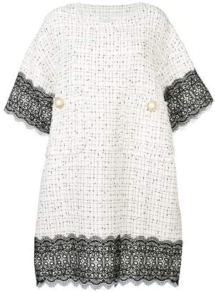 Faith Connexion embellished buttons dress