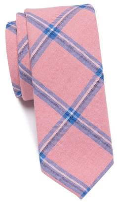 Original Penguin Daunte Plaid Skinny Tie