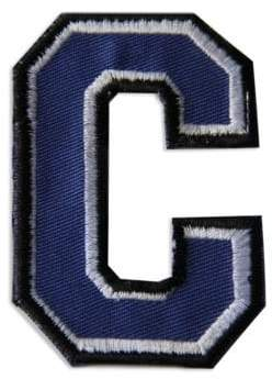 """Embroidered """"C"""" Letter Patch"""