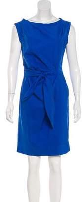 Diane von Furstenberg Pleated Sleeveless Dress