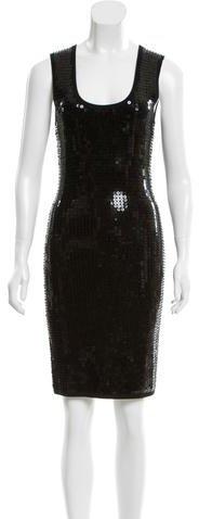 MICHAEL Michael KorsMichael Kors Wool Embellished Dress