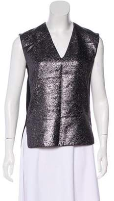 CNC Costume National Metallic Sleeveless Top w/ Tags