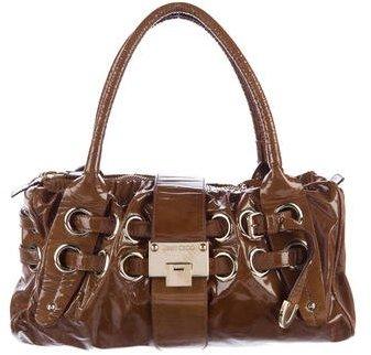 Jimmy ChooJimmy Choo Patent Leather Riki Bag