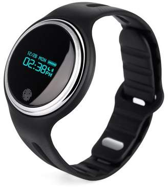 COLORFUL Smart Watches for Women New Design Waterproof Bluetoot h 4.0 OLED Display Smartwatch Smart Wristband Band Smart Bracelet With Pedometer Watch Black