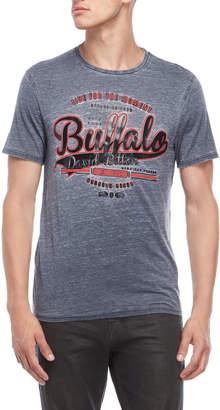 Buffalo David Bitton Glossy Logo Burnout Tee