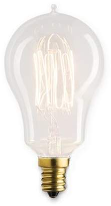 Bulbrite Industries 25 Watt A15 Incandescent, Light Bulb, Soft White E12/Candelabra Base
