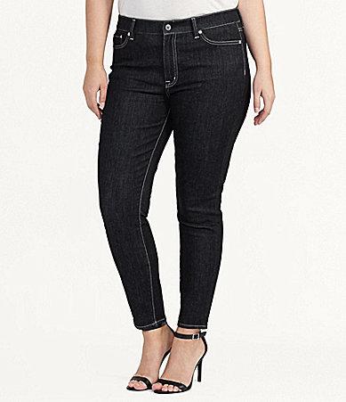 Lauren Ralph LaurenLauren Ralph Lauren Plus Premier Skinny Ankle Jean