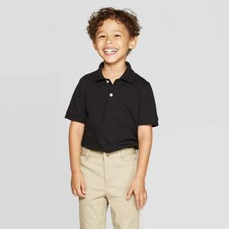 Cat & Jack Toddler Boys' Short Sleeve Pique Uniform Polo Shirt - Cat & JackTM