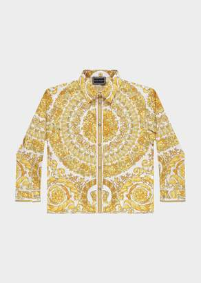 Versace Cotton Button Up Shirt