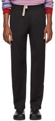 Acne Studios Black Drawstring Lounge Pants