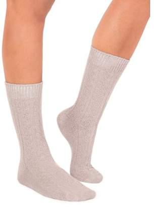 Muk Luks Women's 3 Pair Pack Boot Socks