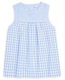 Vineyard Vines Little Girl's& Girl's Gingham Woven Top